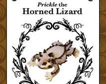 Plush Horned Lizard (Horny Toad) Pattern