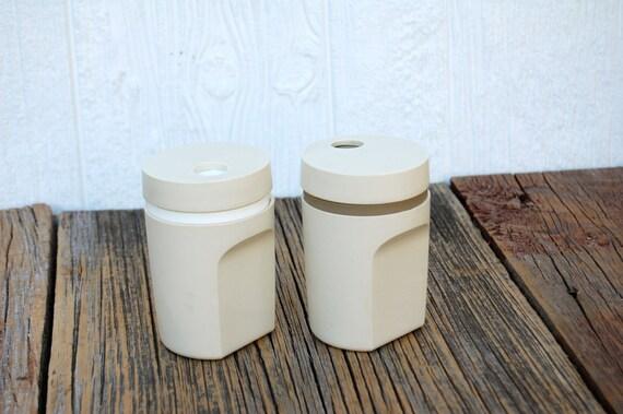 Vintage Tupperware Salt & Pepper Shakers