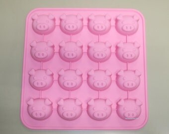 Pig Flexible Silicone Mold / Mold For Candy Chocolate Jewelry Jelly Cake Crafts