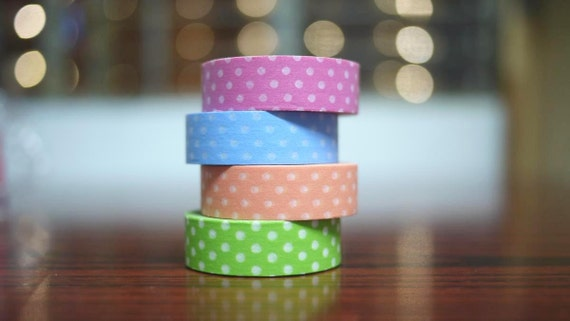 Masking Tape Washi Tape - Set of 4