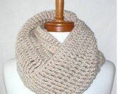 Crochet Pattern - The Mammoth Reversible Cowl
