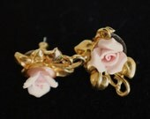Vintage Rose Earrings-perfect condition. Sale. 1.99.