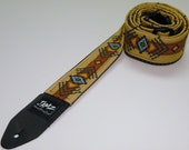 Southwestern Guitar Stap - NAVAJO - Native American - Top Seller