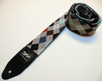 Argyle Guitar Strap - PREPPY - Top Seller - Yuppie
