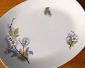 SALE Midwinter Stylecraft plate' Orchard Blossom' pattern mid century serving platter