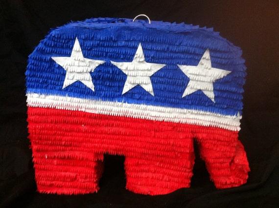Republican symbol pinata