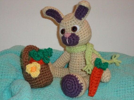 Crochet Amigurumi Easter Bunny : Easter Bunny Crochet Amigurumi