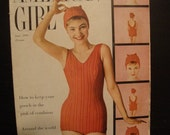 Vintage Issue of American Girl June 1958