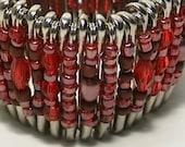 Safety Pin Beaded Wrist Cuff Bracelet Free U.S. Shipping 0dolla4u