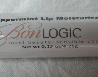 Peppermint Lip Balm Moisturuizer with Cocoa Butter, Shea Butter & Vitamin E