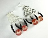 CLEARANCE - Colorful Squiggly Earrings by UptownBijou
