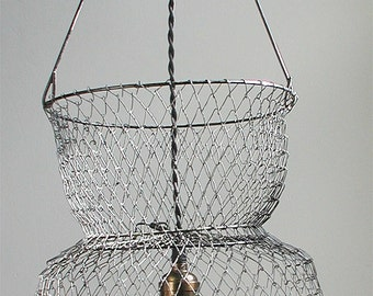 Fish Basket Pendant Light