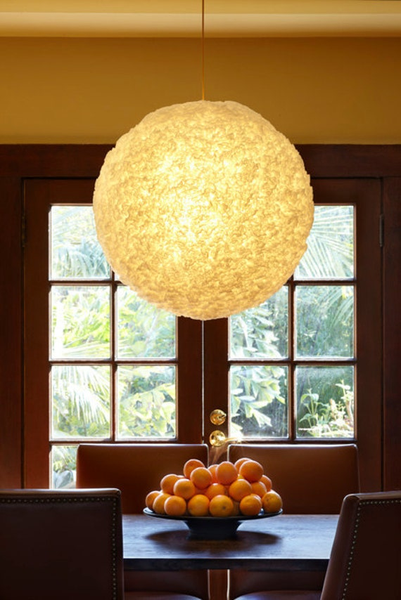 Moonball Pendant Light 28""