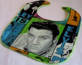Elvis Green Bib