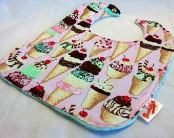 We All Scream for Ice Cream Bib