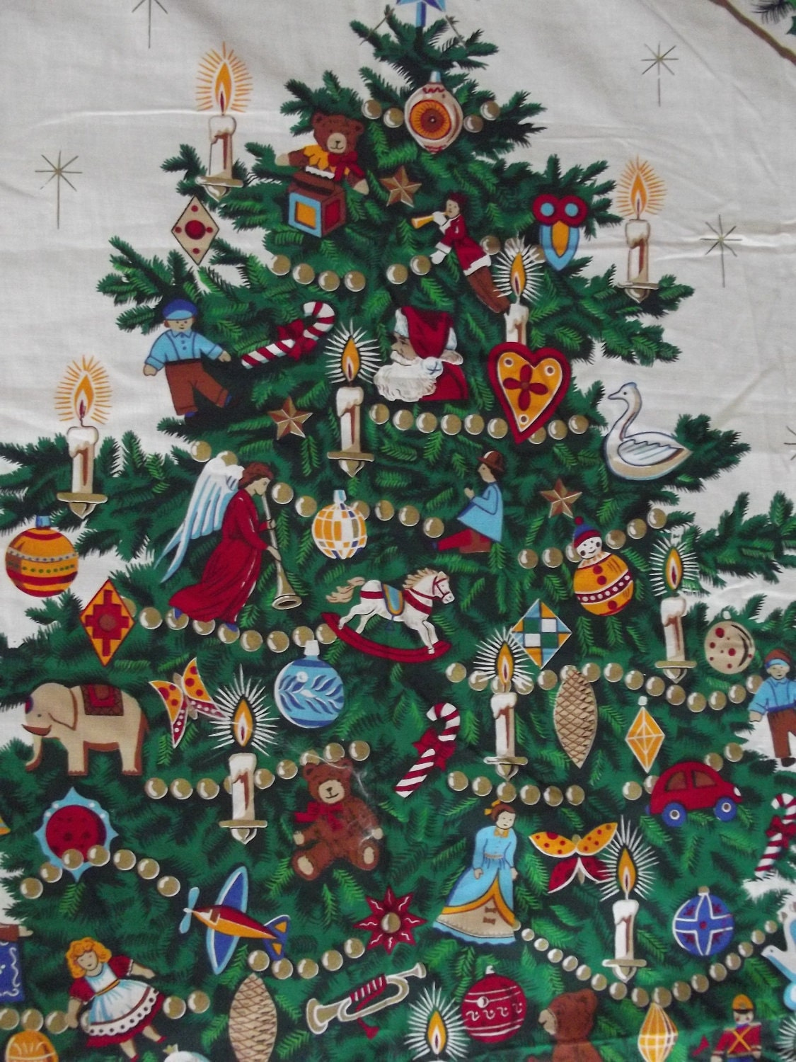 The Night Before Christmas Fabric Craft Panel To Sew By