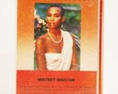 SALE Whitney Houston Debut Cassette Tape 1985