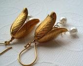 Earrings Flowering Pearls of Purity
