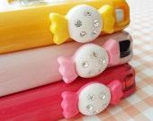 SALE - Sweet candy earphone plug