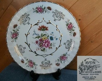 "Avon Collector Plate ""Wildflower"""