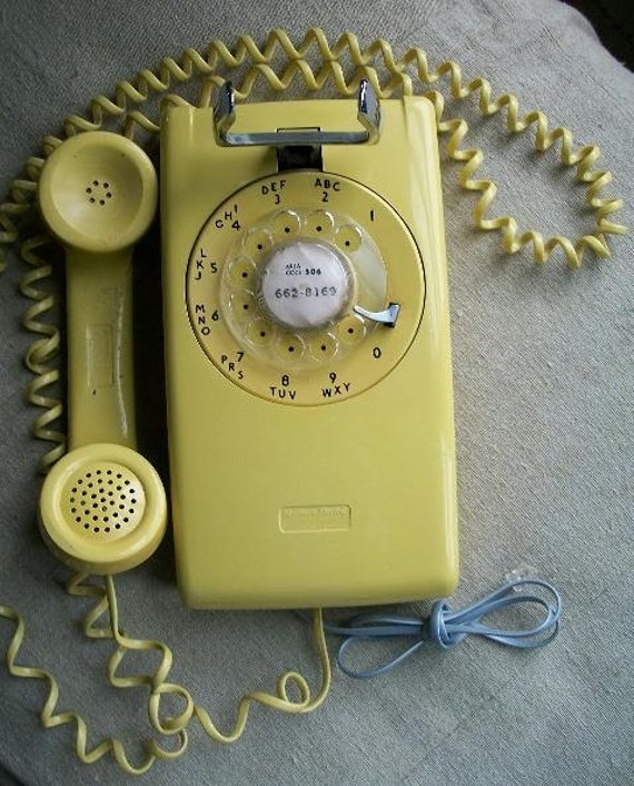1961  Northern Electric 554 Series Wall Telephone Works