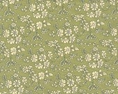 fat eighth Capel, sage green classic floral Liberty of London tana lawn