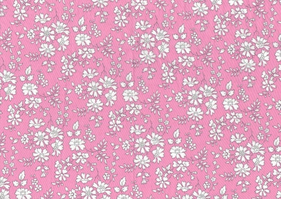 candy pink classic floral Liberty print, 'Capel R',  Liberty of London fat eighth