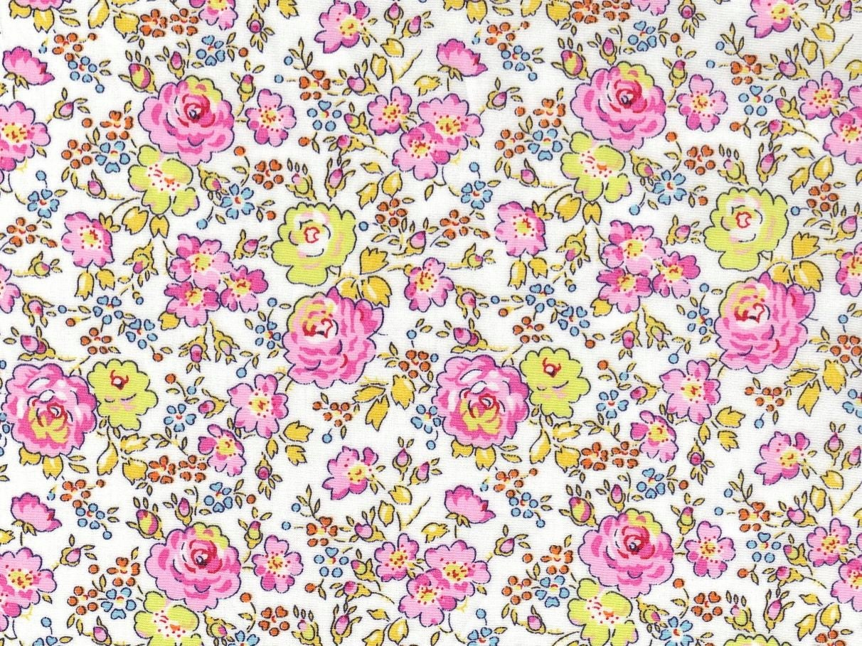Liberty Of London Fat Eighth Felicite Pink Rose