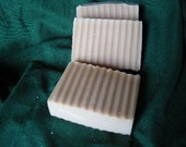 USDA Organic Goat Milk, Honey and Oatmeal Handcrafted Soap from Hoosier Herbal Hippies.