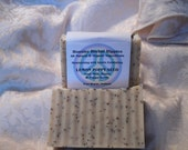 SALE -Lemon Poppy Seed  Organic Goat Milk & Honey cold process soap from Hoosier Herbal Hippies