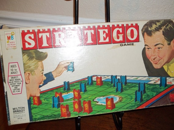 The Stratego Game By Milton Bradley 1970