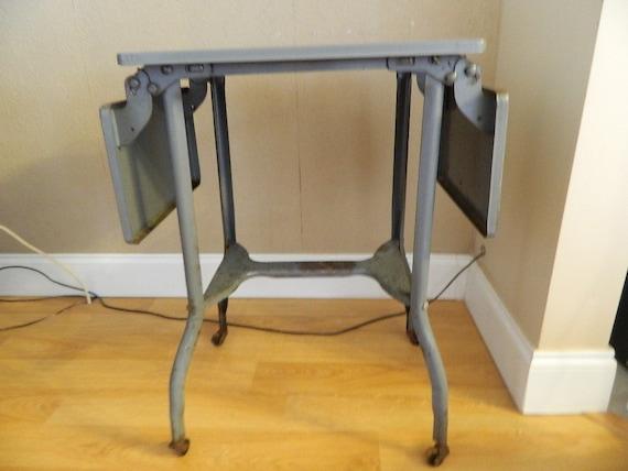 Vintage Metal Typewriter Table 1940s Or 1950s
