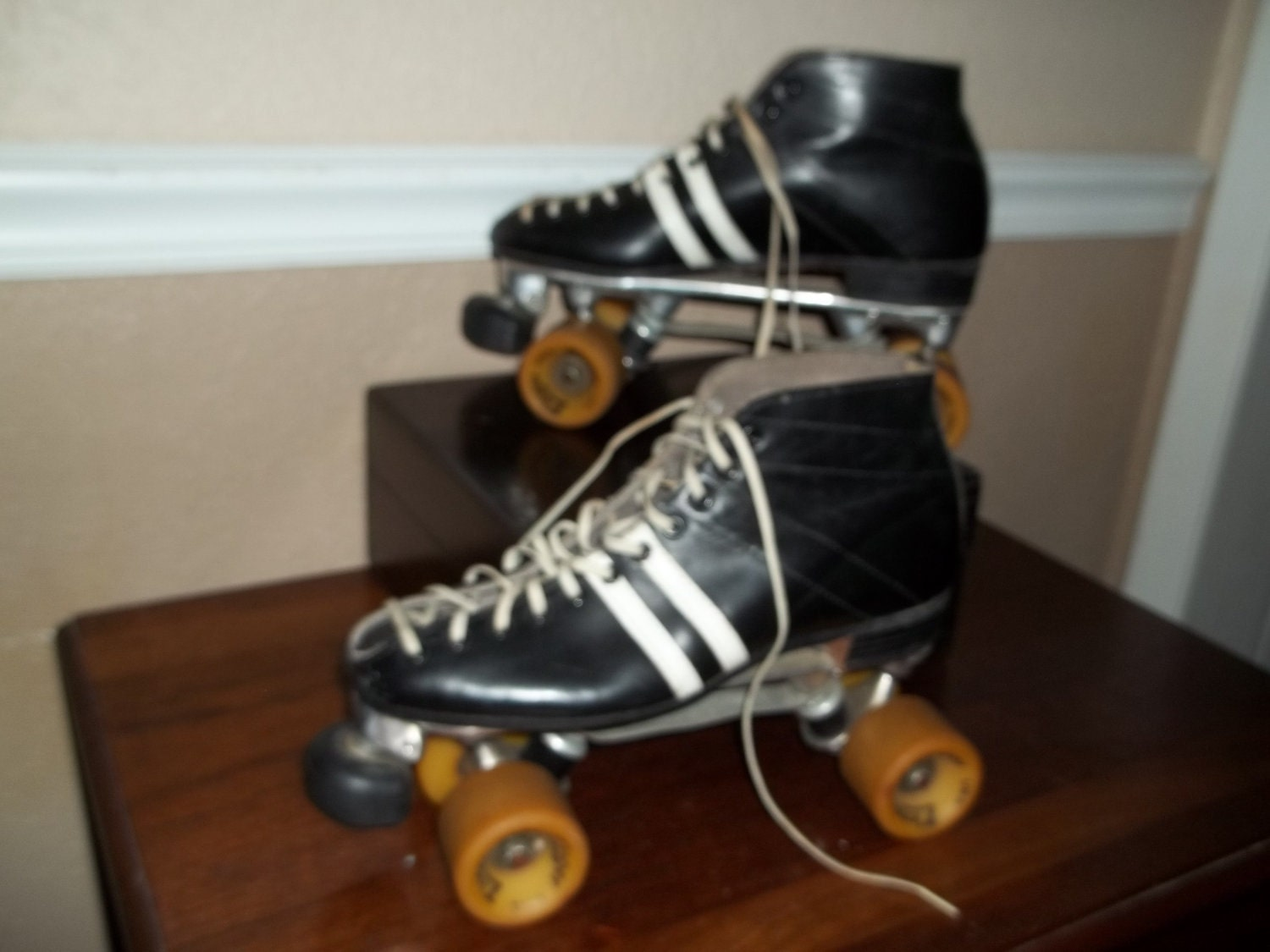Reserved For B Speed Skates Sure Grip Cyclone 1986 Roller