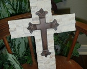 Hand Crafted Mosaic Cross