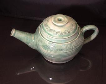 Teapot Ceramic in Green