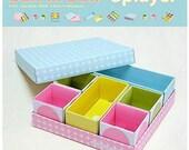 DIY Paper Clean-up Box - Box in Box - 8 Pcs