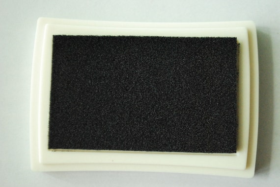 Craft Ink Pad - Black - Special for wood, fabric and Paper
