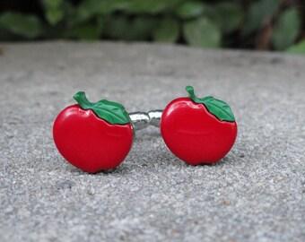 Small Apple Cufflinks