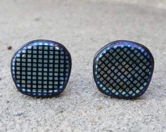 Fluorescent Colored Cufflinks