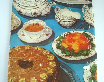 1960s Cookbook for Entertaining 6 or 8