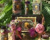 Faerie Garden Musings. Enchanted WItchery Ritual Kit.  Faerie Garden Magick, Faerie Attraction, Summer Solstice, Nature Spirits