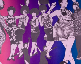 60's Dancing Girls, on Grapesicle (Purple)