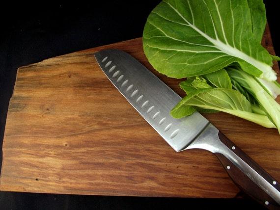 Natural cutting board, Rustic Wood Cutting Board, OOAK, organic  Bigleaf Maple, handsome,