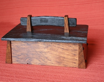 Decorative Bog Oak Box