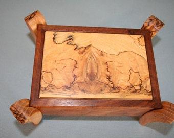 Decorative Walnut Box