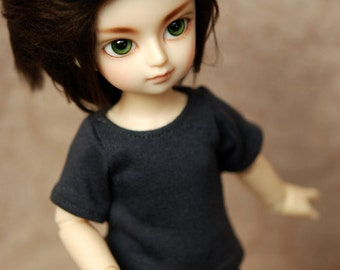 YoSD Charcoal Grey T Shirt For BJD
