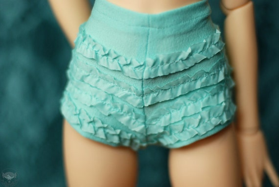 SD Retro Mint Ruffled Underpants For 1/3 Ball Joint Dolls - Last Pair