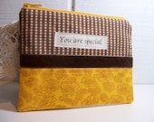 Small Bag for your cell phone- Cosmetic bag.