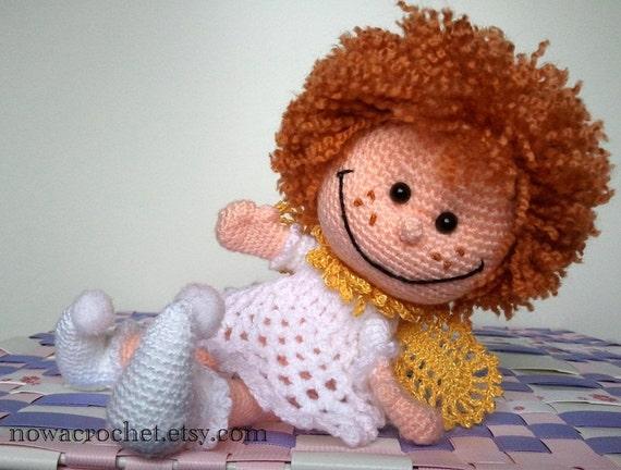 Inspiring angel - amigurumi PDF crochet pattern