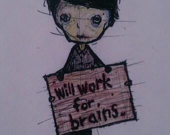Starving Artist (print)
